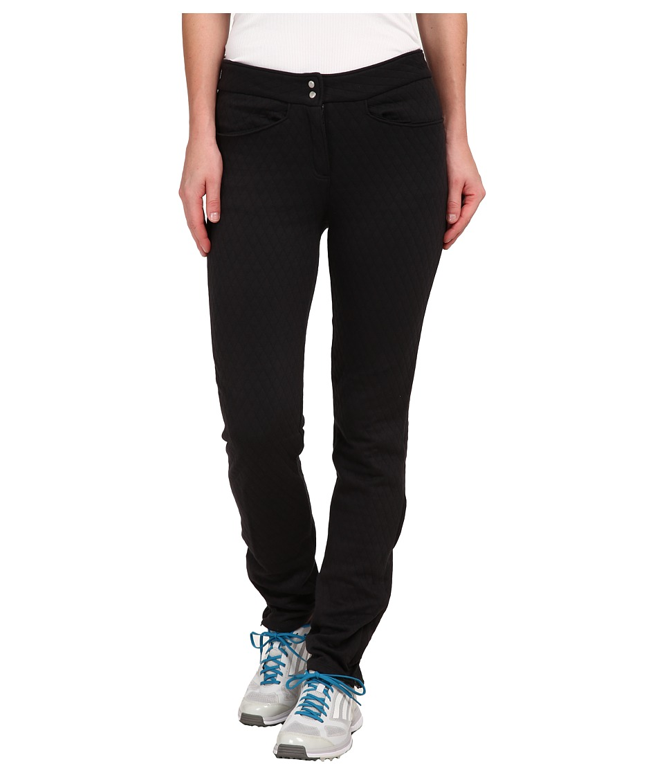 adidas Golf - Advance Quilted Pants (Black) Women