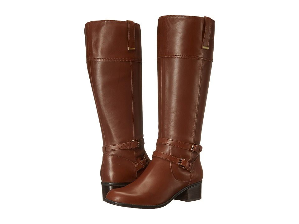 Bandolino - Carlottaw (Brown/Brown Wide Leather) Women