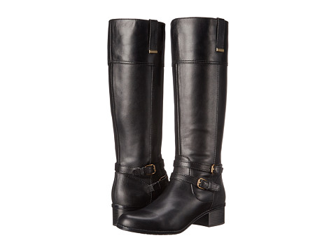 Bandolino - Carlotta (Black/Black Leather) Women's Boots