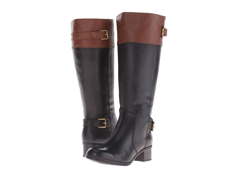 Bandolino - Castinw (Black/Brown Wide Leather) Women
