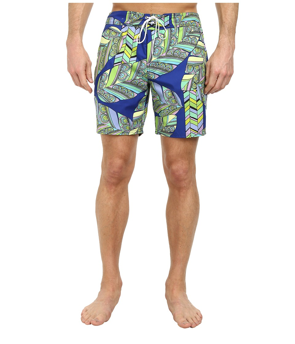 Mr.Turk - San Simeon Boardshorts (Multi) Men's Swimwear