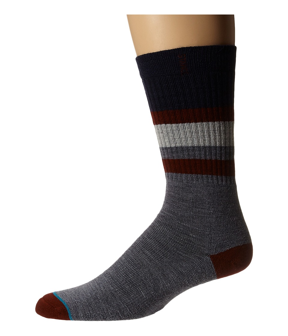 Stance - Poseidon (Blue) Men's Crew Cut Socks Shoes