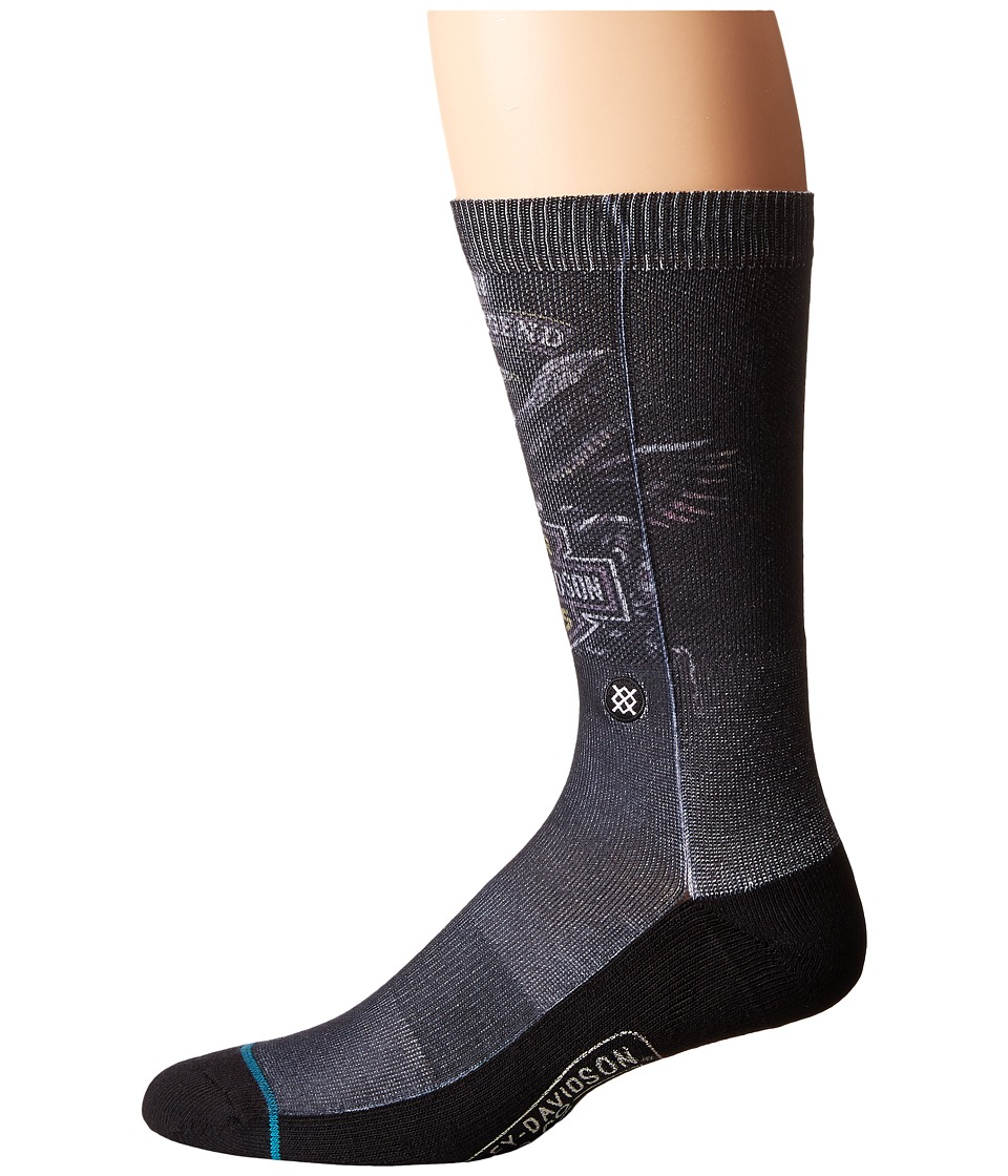 Stance - Shovel Head (Black) Men's Crew Cut Socks Shoes