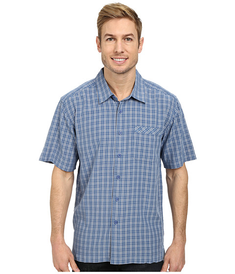 Quiksilver - Crescent Point Woven Top (Lake) Men