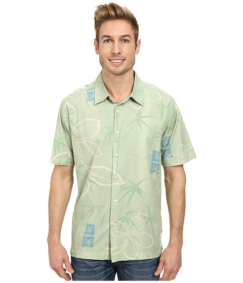 Quiksilver - Kalo Beach Woven Top (Moss Green) Men's Clothing