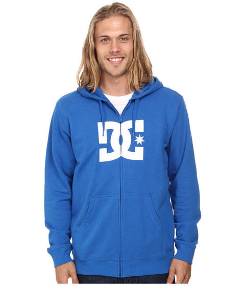 DC - Star Zip-Up Screen Fleece (Snorkel Blue) Men