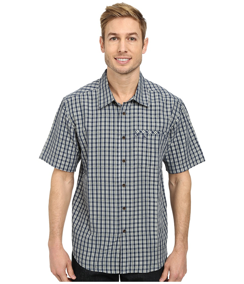 Quiksilver - Twin Lakes Woven Top (Night) Men