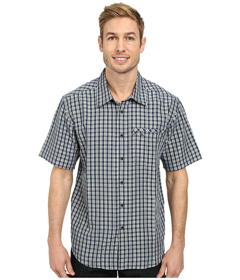 Quiksilver - Twin Lakes Woven Top (Night) Men's Clothing
