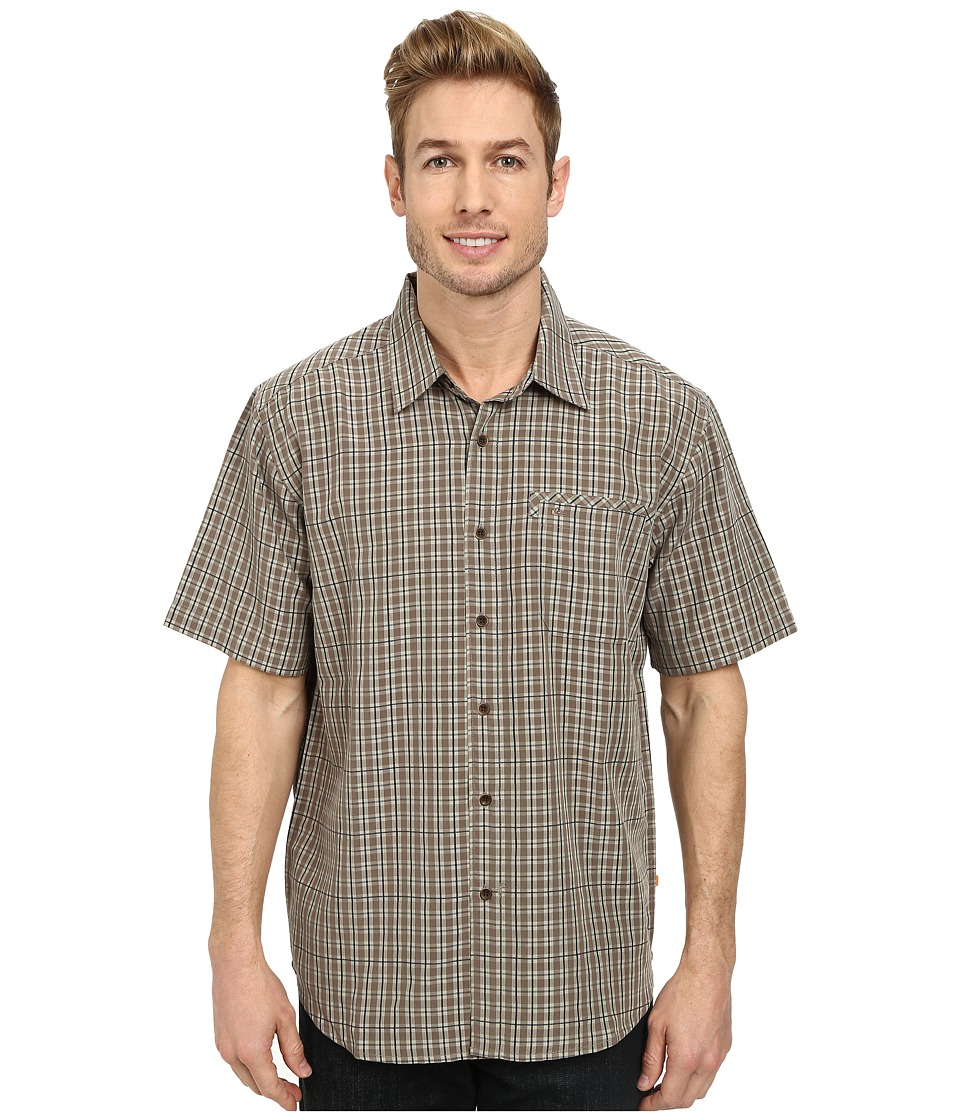 Quiksilver - Twin Lakes Woven Top (Bark) Men