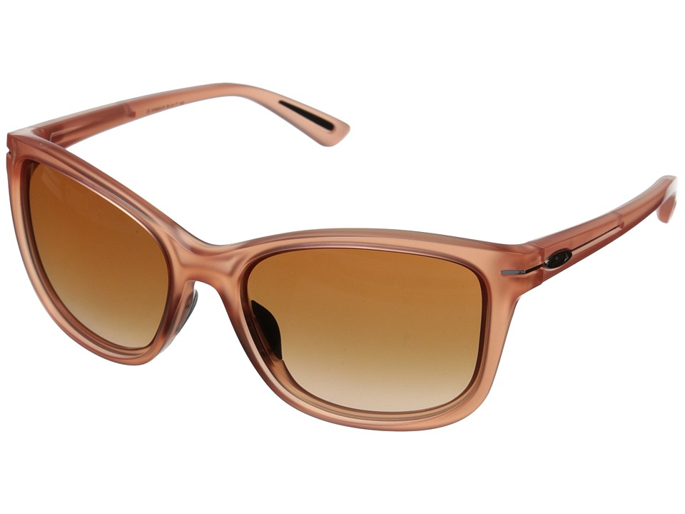 Oakley - Drop-In (Frosted Peach/VR50 Brown Gradient) Fashion Sunglasses