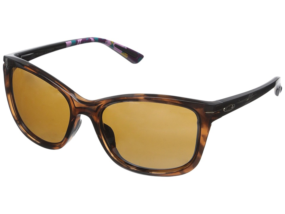 Oakley - Drop-In (Tortoise/Tungsten Iridium) Fashion Sunglasses