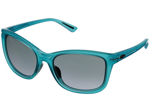 Oakley - Drop-In (Frosted Illumination Blue/Black Grey Gradient) Fashion Sunglasses