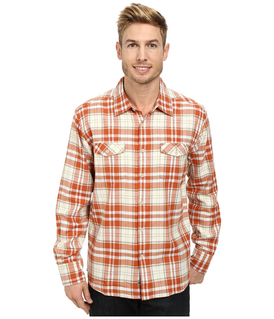 Quiksilver - Ponderosa Woven Top (Cinnamon) Men