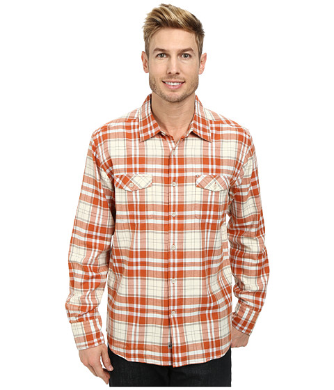 Quiksilver - Ponderosa Woven Top (Cinnamon) Men's Clothing