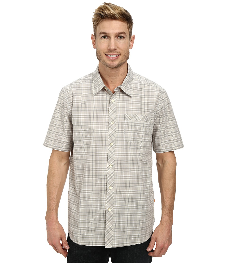 Quiksilver - Bancoora Beach Woven Top (Sandbar) Men's Clothing