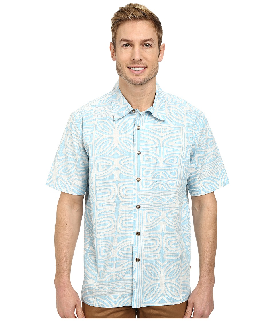 Quiksilver - Kalapana Woven Top (Tile) Men's Clothing