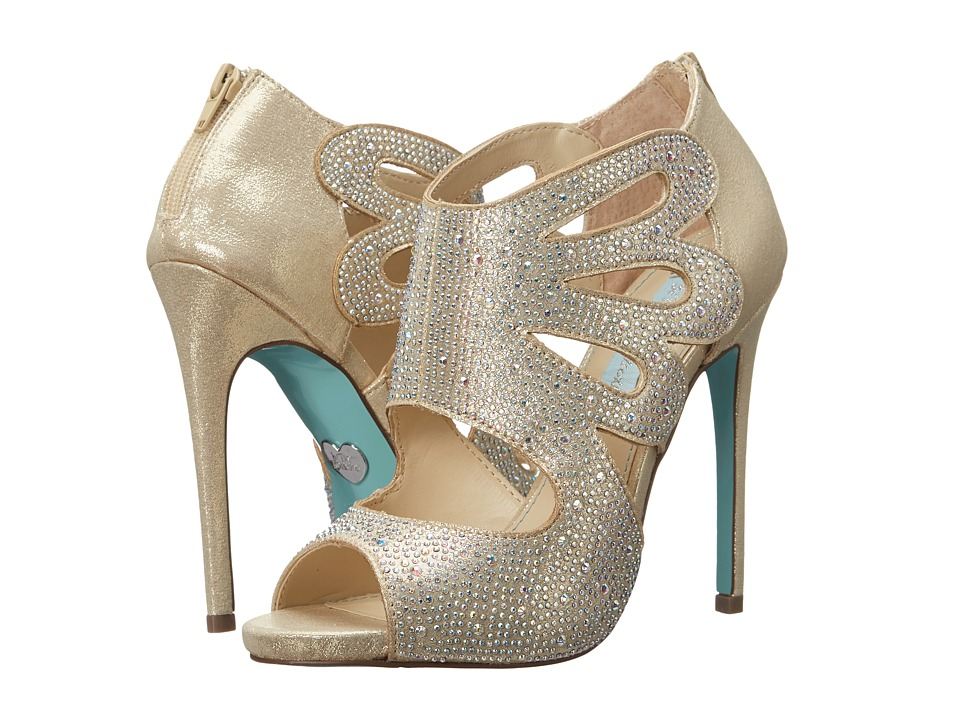 Blue by Betsey Johnson - Nola (Gold) Women's Shoes
