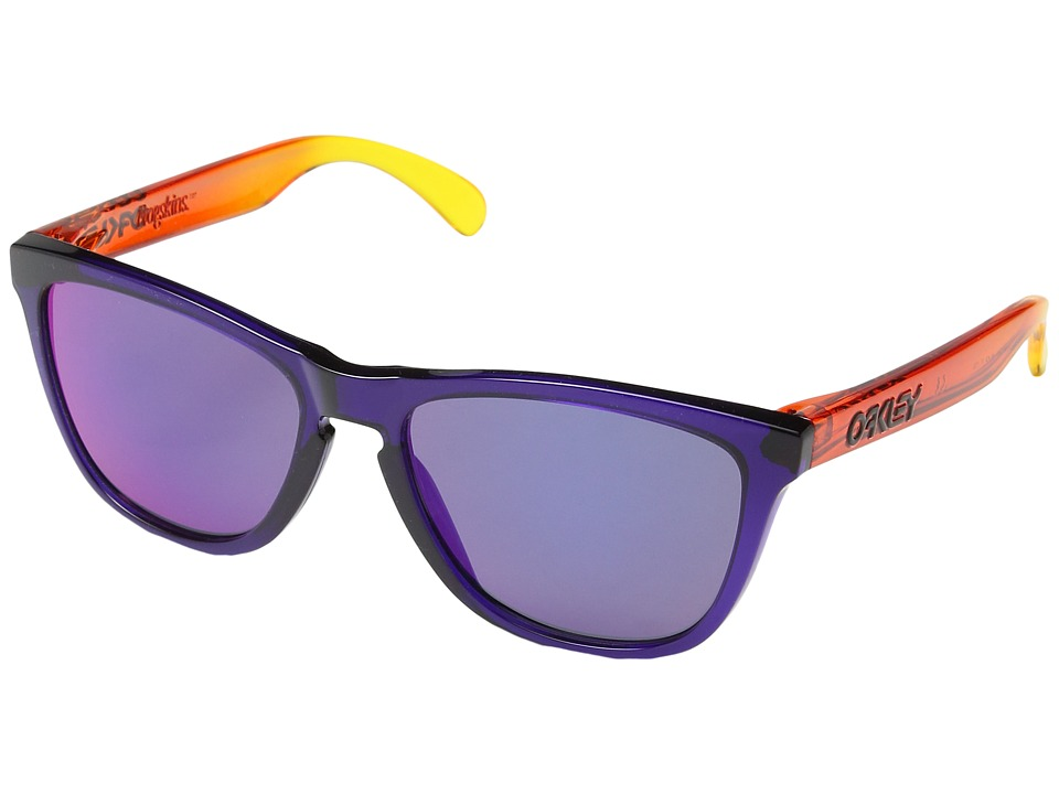 Oakley - Frogskins (Purple/Red Iridium) Sport Sunglasses