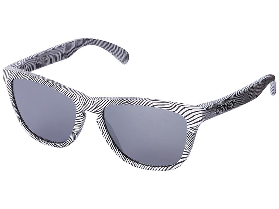 97cb76604a UPC 888392110732 product image for Oakley - Frogskins (White  Fingerprint Black Iridium) Sport ...
