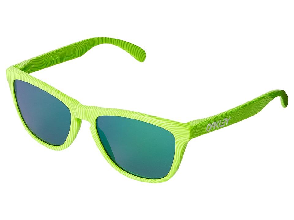 Oakley - Frogskins (Retina Burn/Jade Iridium) Sport Sunglasses