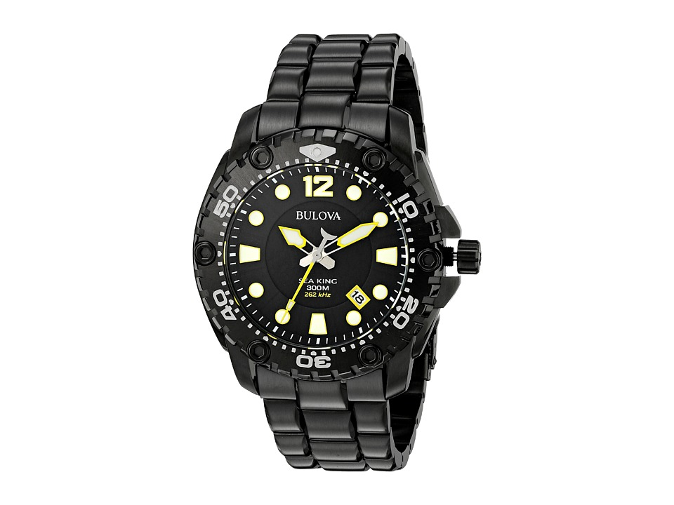 Bulova - Sea King - 98B242 (Black) Watches