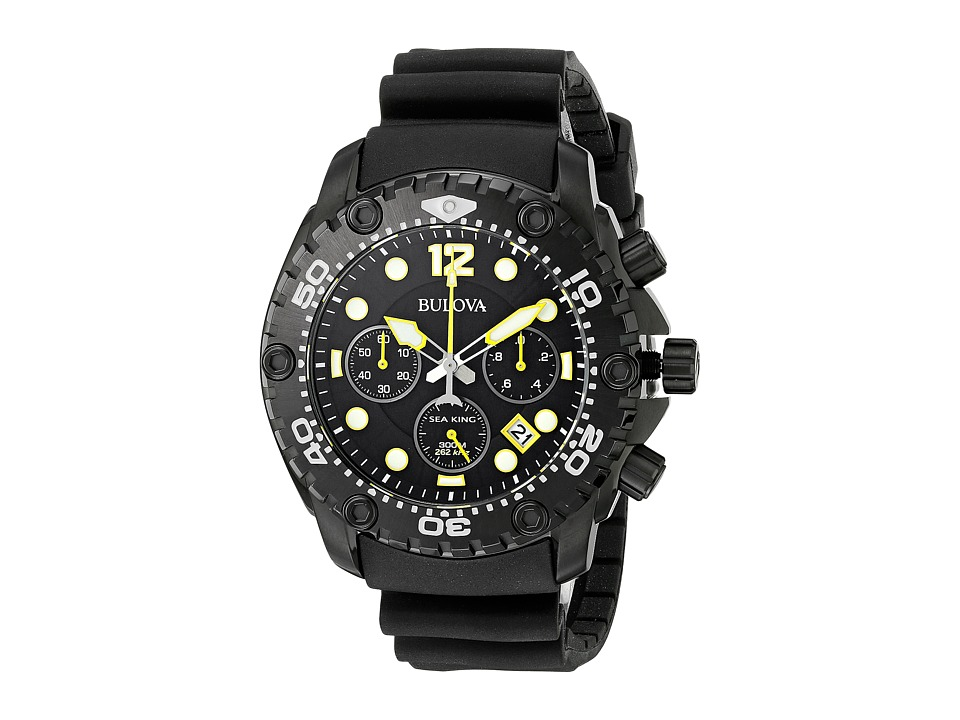 Bulova - Sea King - 98B243 (Black) Watches