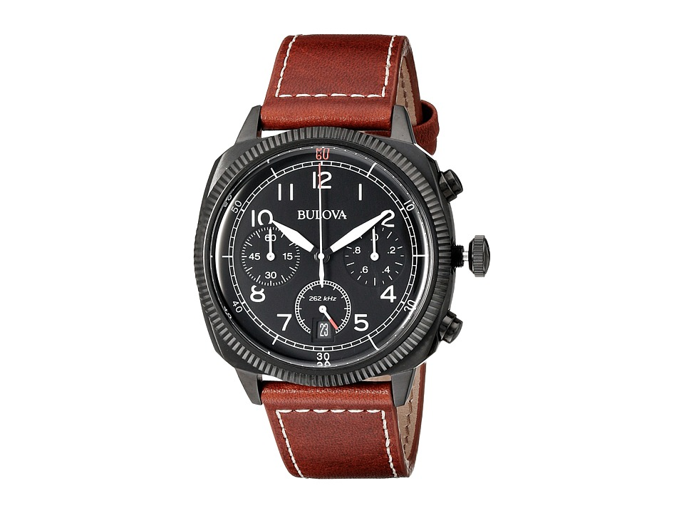 Bulova - Military - 98B245 (Black) Watches