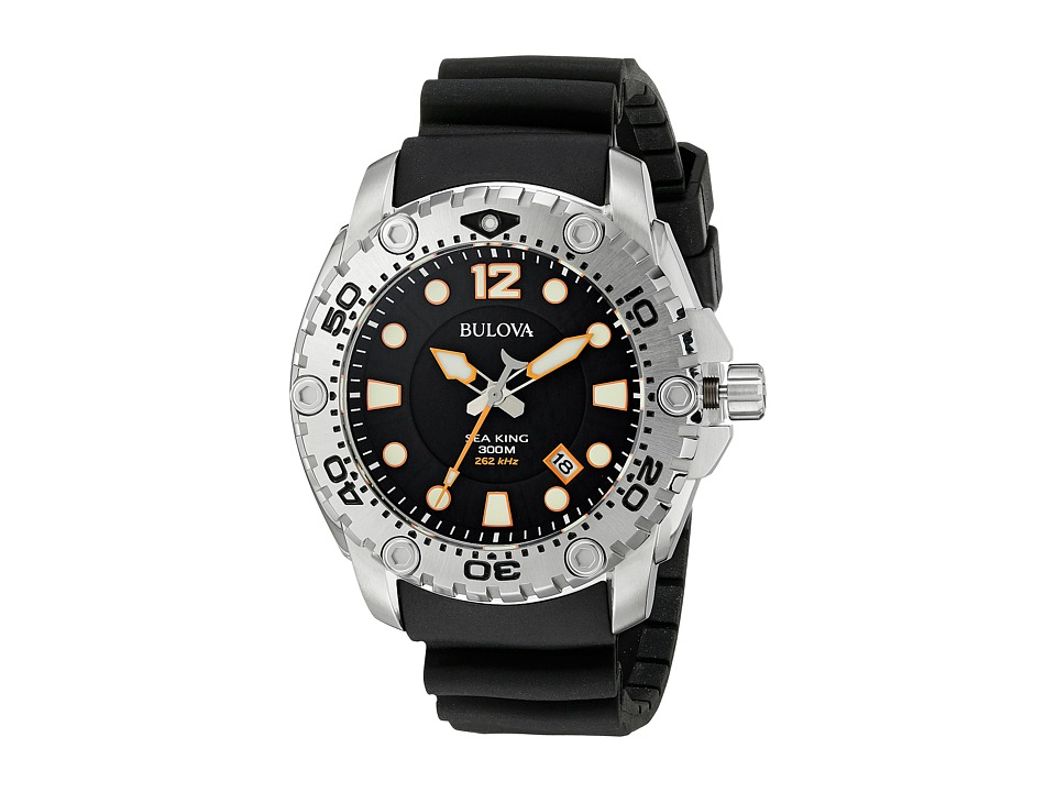 Bulova - Sea King - 96B228 (Black Strap) Watches