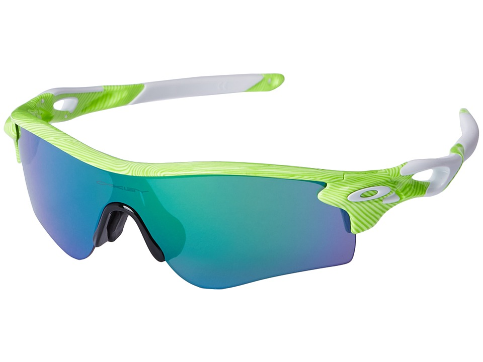 Oakley - Radarlock (Retina Burn Fingerprint/Jade Iridium) Sport Sunglasses
