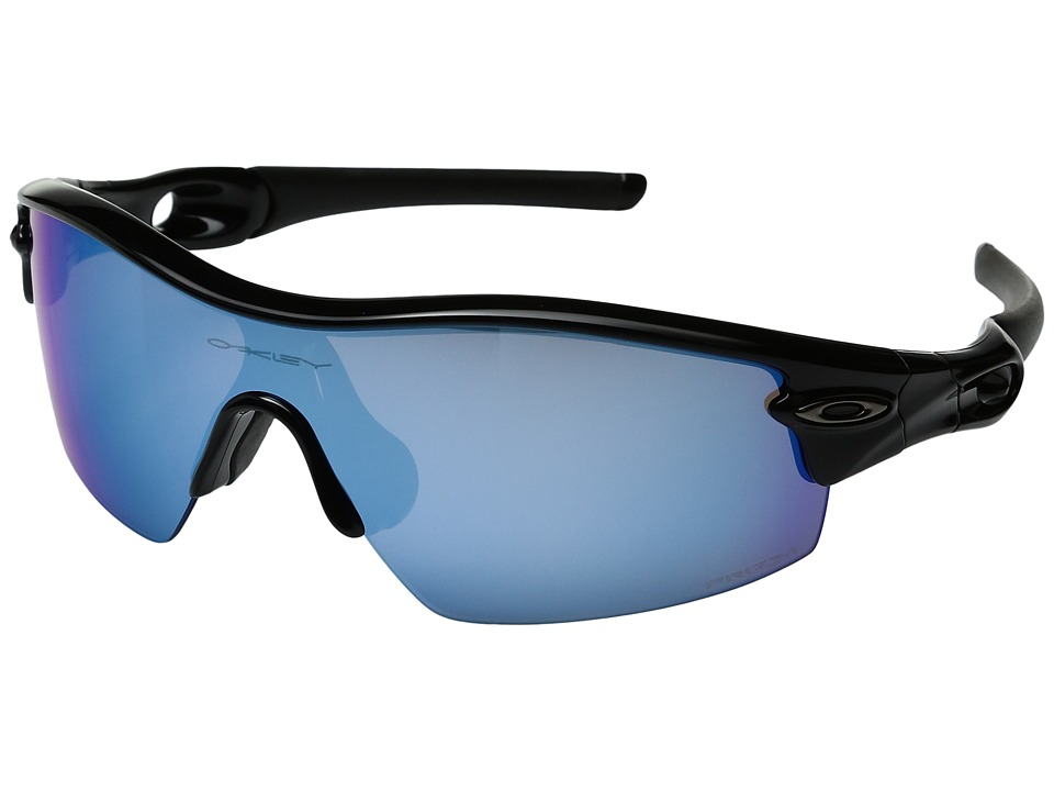 Oakley - Radar (Polished Black/Black Iridium) Sport Sunglasses