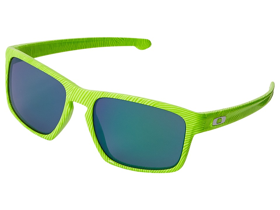 Oakley - Sliver (Retina Burn Fingerprint/Jade Iridium) Sport Sunglasses