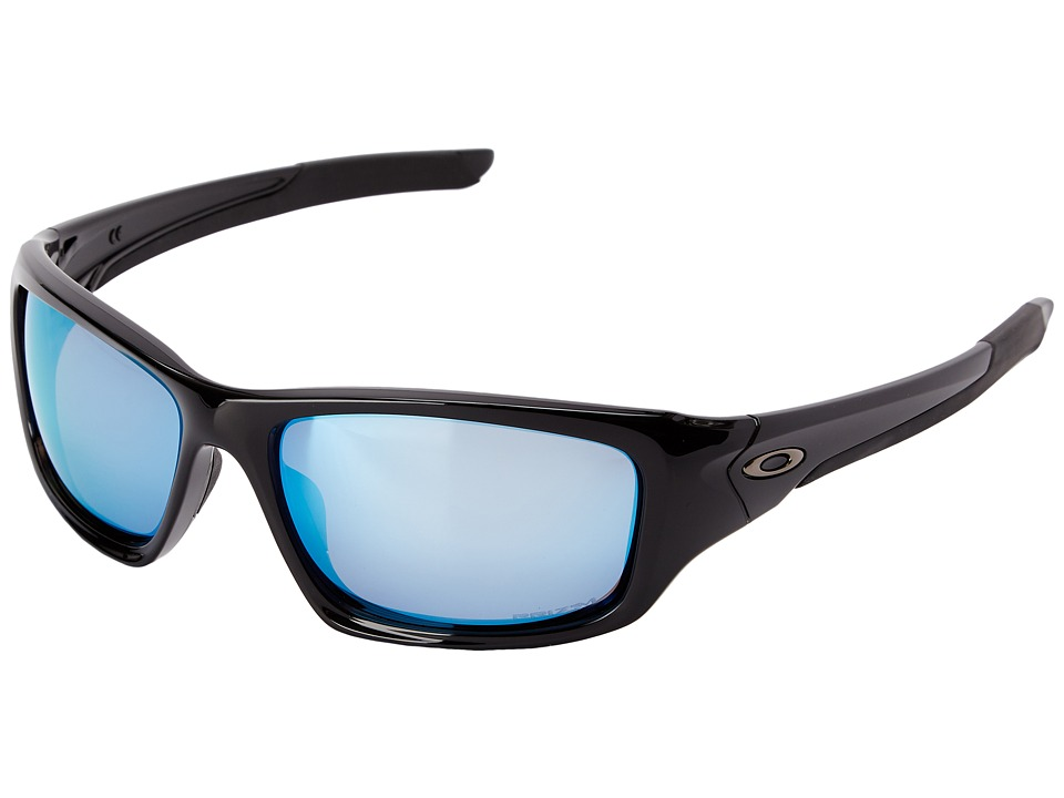 Oakley - Valve (Polished Black/Prizm Salt Water Polarized) Sport Sunglasses
