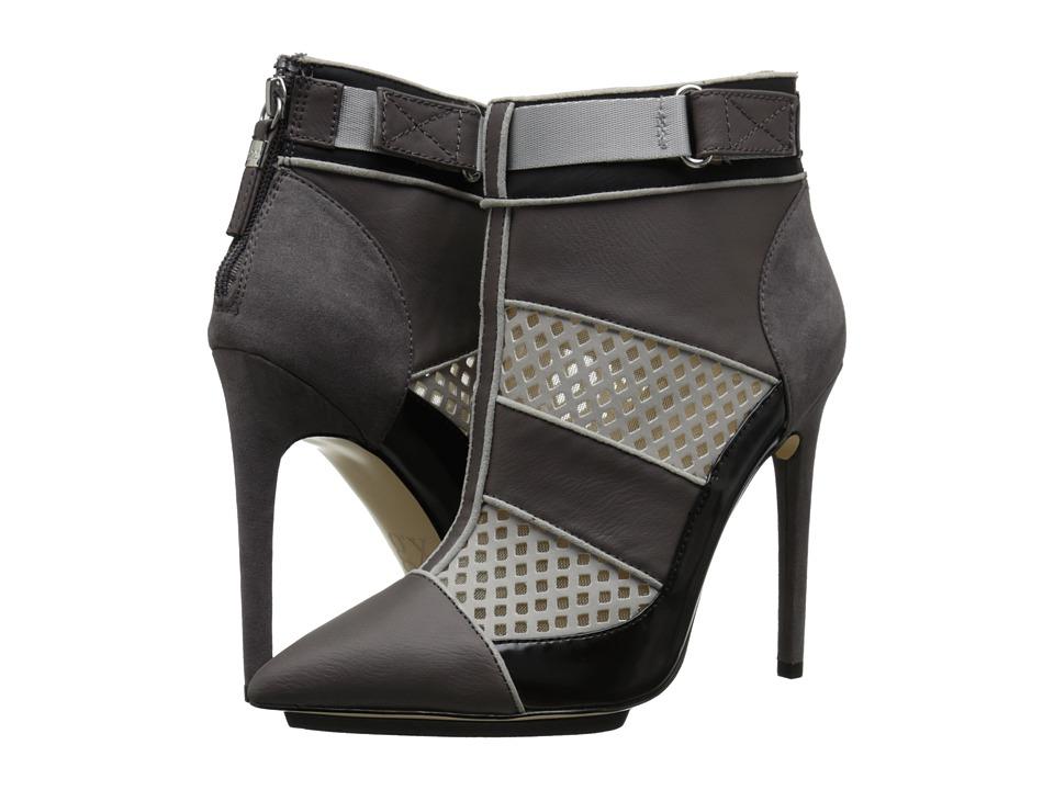 GX By Gwen Stefani - Cargo (Dark Grey/Light Grey Matte Vachetta/Mic Suede) High Heels