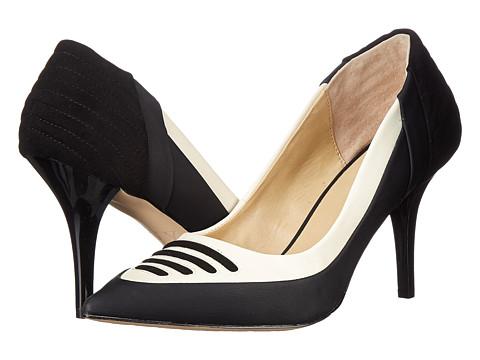 GX By Gwen Stefani - Tango (Black/Cream Vachetta Matte/Mic Suede) High Heels