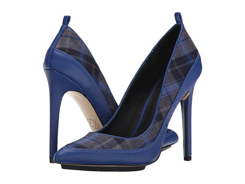 GX By Gwen Stefani - Trio (Blue Plaid/Vachetta Matte) High Heels