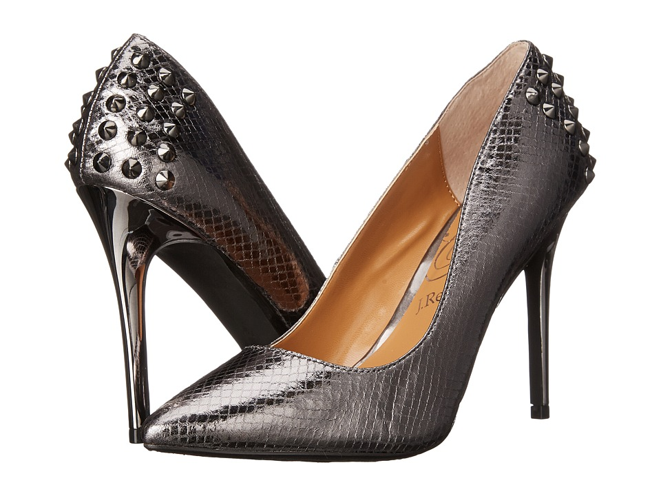 J. Renee Fizzle (Pewter) High Heels