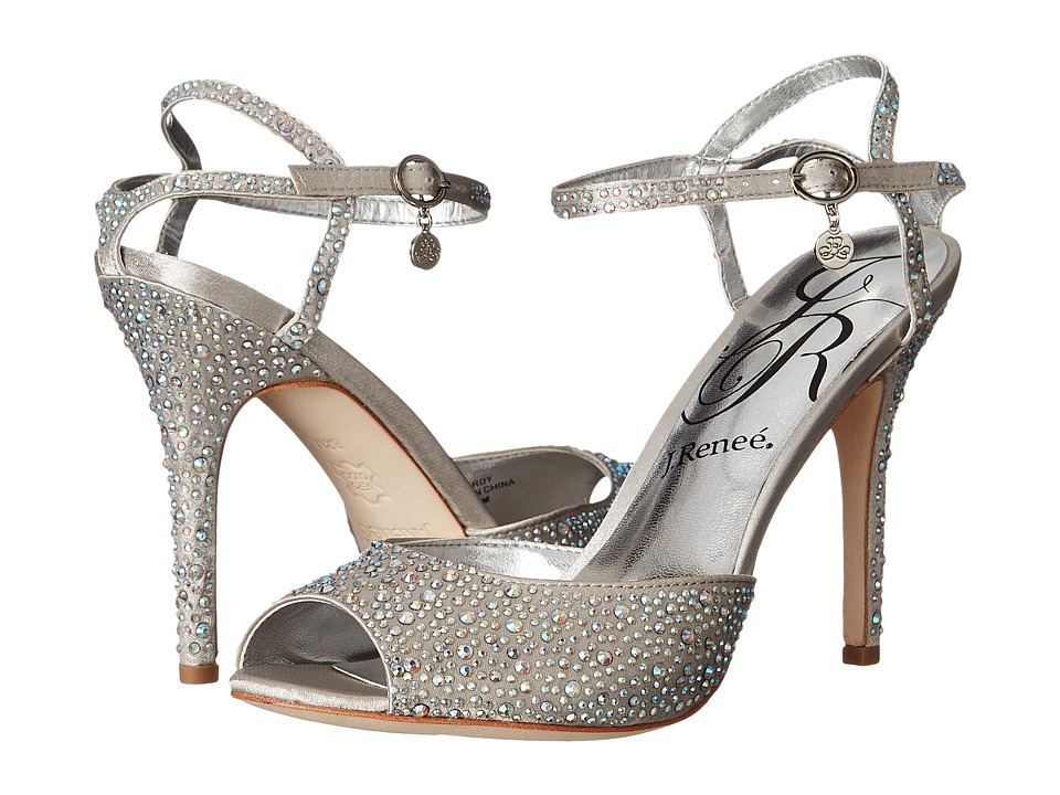 J. Renee - Jordy (Silver) High Heels