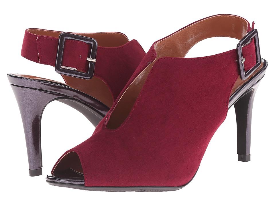 J. Renee - Myra (Burgandy) Women's Shoes