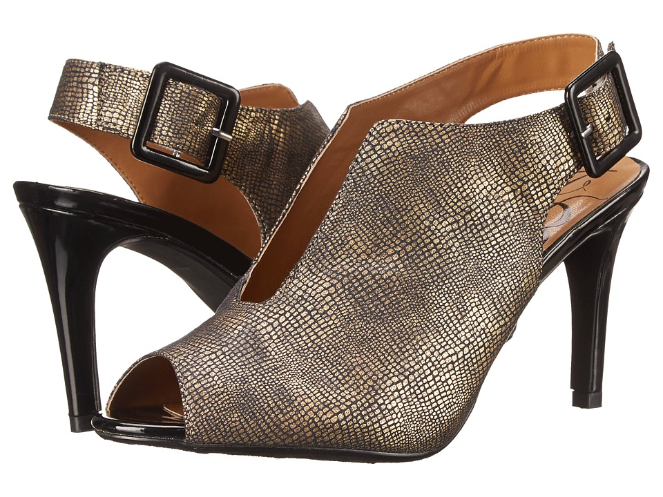 J. Renee - Myra (Old Gold) Women's Shoes