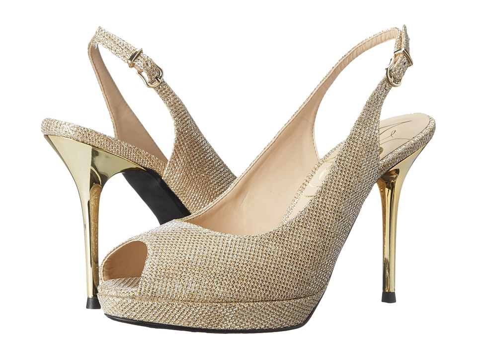 J. Renee - Olive (Gold) High Heels
