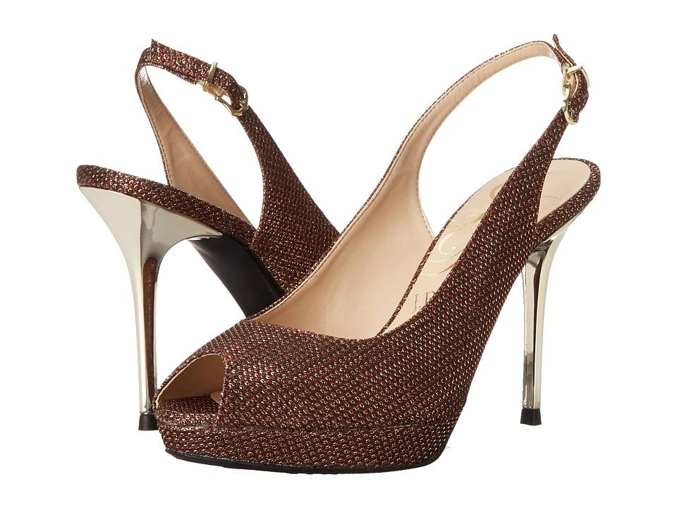 J. Renee - Olive (Red) High Heels