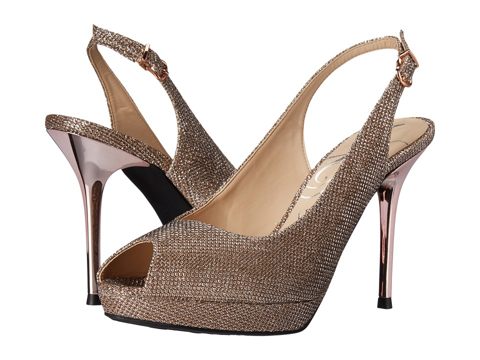 J. Renee - Olive (Blush) High Heels