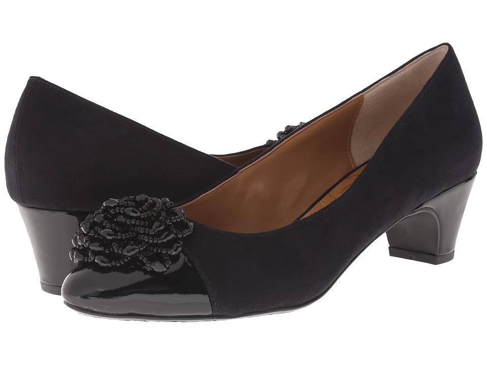 J. Renee - Rashana (Black/Black) Women's Slip-on Dress Shoes
