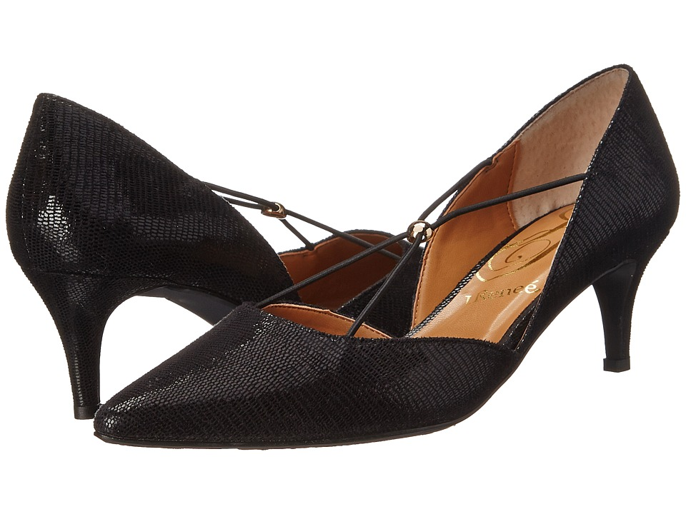 J. Renee - Veeva (Black) Women's Shoes