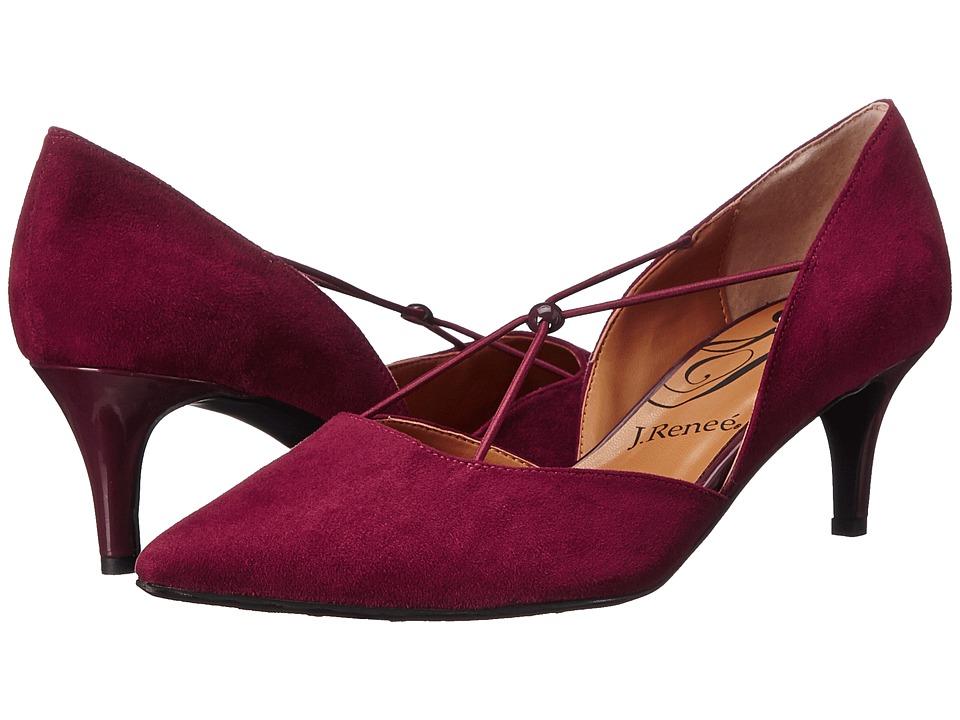 J. Renee - Veeva (Brandy Wine) Women's Shoes