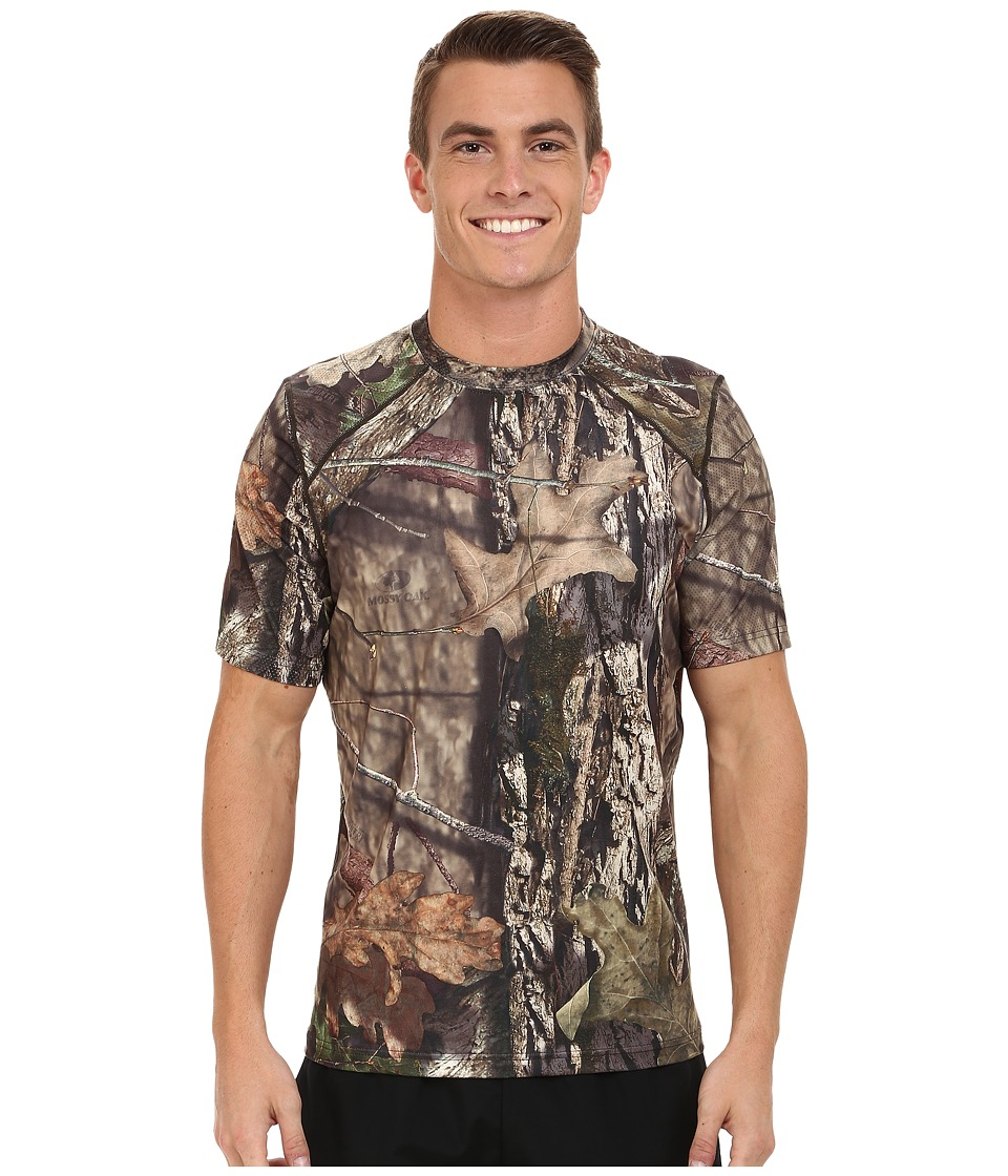 Terramar - 2.0 Stalker Short Sleeve Tee (Mossy Oak Break-Up Country) Men's Short Sleeve Button Up