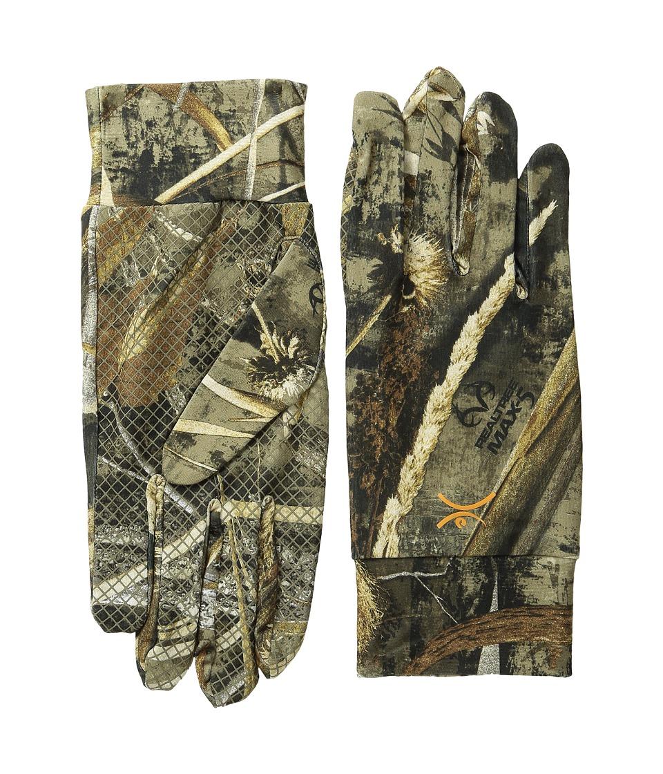 Terramar - 2.0 Stalker Glove Liner (Realtree Max 5) Liner Gloves