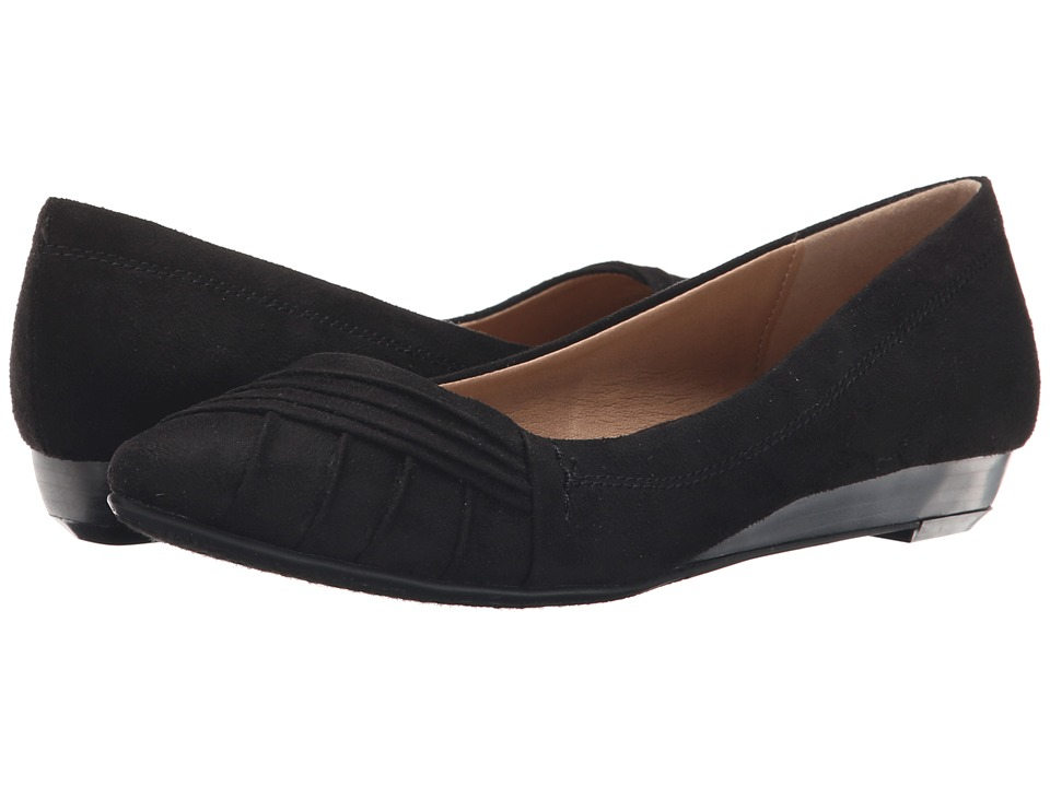 Dirty Laundry - DL Sail Away (Black) Women's Dress Flat Shoes
