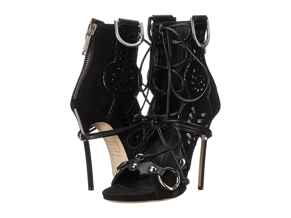 DSQUARED2 - Sandal with Leather Inserts (Nero Camoscio) Women