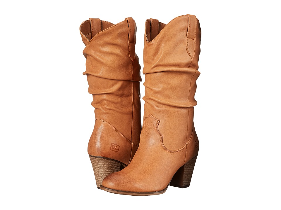 Dirty Laundry - Double Whammy (Tan) Cowboy Boots